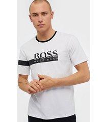 boss trend t-shirt t-shirts & linnen white