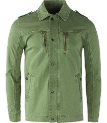 gabbiano shirt jacket olive groen