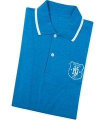 camiseta polo adulto masculino azul turquesa marketing  personal