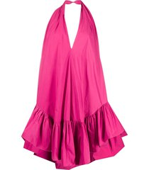 ainea oversized sleeveless dress - pink