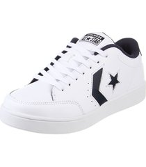 zapatilla blanca converse   star court