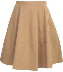 aspesi short wheel skirt