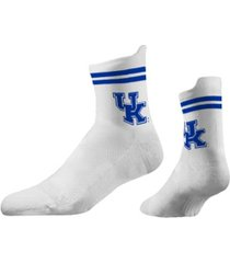 strideline kentucky wildcats classic mid knit socks