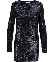 saint laurent sequinned dress