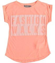 geisha stevig zacht t-shirt pink melon