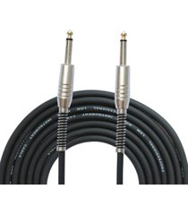 mono jack guitar cable audio macho a macho cable cable 6.35mm enchufe recto