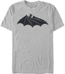 fifth sun dc men's batman cape logo short sleeve t-shirt