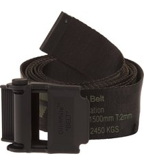 off-white green and black man 2.0 industrial belt