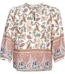 blouse cream adaje