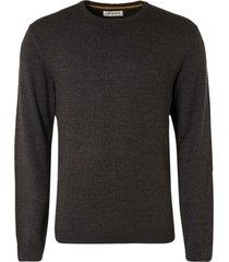 no excess pullover crewneck 2 color dark grey