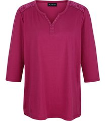 shirt m. collection fuchsia