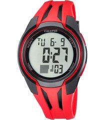 reloj color run rojo calypso