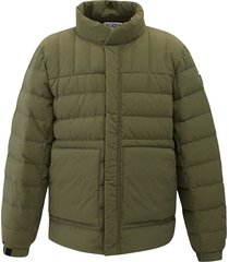 104175-376 | padded down jacket | khaki - m