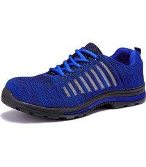 scarpe da lavoro indossabili per la sicurezza indossabili e anti-puntura per uomo