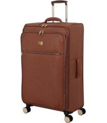 "it girl 31"" compelling softside semi-expandable spinner suitcase"