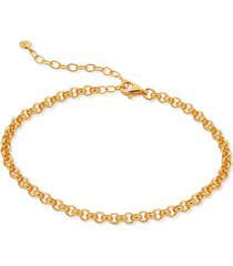 gold vintage chain bracelet