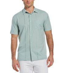cubavera men's mini-dobby shirt