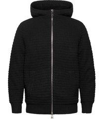 jacket hoodie svart armani exchange