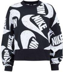 blusão nike sportswear icon clash fl - feminino - preto