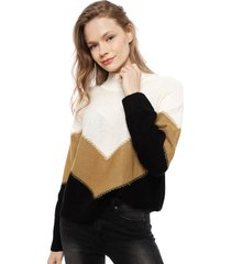 sweater ellus multicolor - calce holgado
