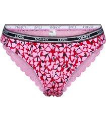 bikini holiday print trosa brief tanga rosa tommy hilfiger