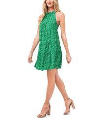 cece tiered floral-print dress
