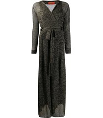 missoni metallic knit jumpsuit - black