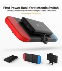 10000mah power bank for nintendo switch game-travel backup battery charger case