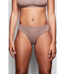 plus size women's skims fits everybody thong, size 4 x - brown