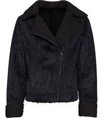 giacca di montone sintetico (nero) - bodyflirt
