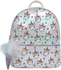 omg! accessories ice cream miss gwen printed dome mini backpack