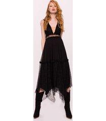 sukienka jedwabna asymetryczna