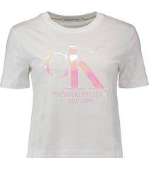 t-shirt iridescebt wit