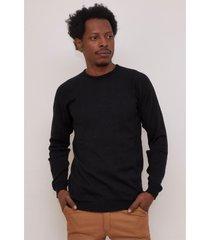 sweater negro el genovés