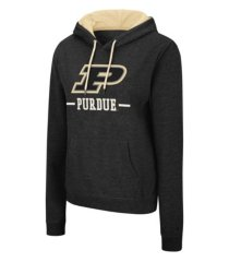 colosseum purdue boilermakers women's genius hooded sweatshirt