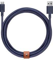 belt extra long usb-a to usb-c charging cable - marine