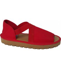 sandalia roja pavien