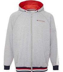 tommy hilfiger hoodie zip through jacket-s