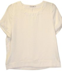 blusa satin blanca new jacinta tienda