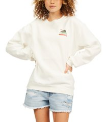 billabong juniors' cali love sweatshirt
