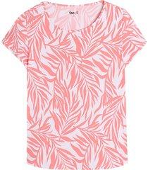 camiseta m/c color curuba color naranja, talla l