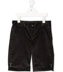 siola tailored corduroy shorts - grey