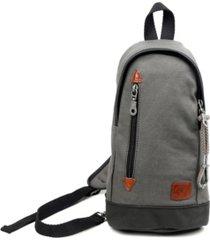 tsd brand urban light coated canvas sling bag