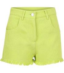 msgm denim shorts