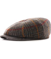 stetson hats hatteras minto flat cap with ear flaps | multi | 6840328-256