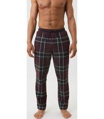 bjorn borg flanellen pyjamabroek core bordeaux rood