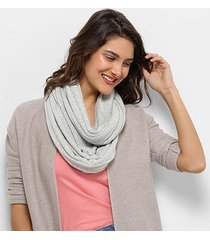 lenço pashmina básico snood feminino