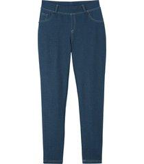 flickleggings med jeanslook