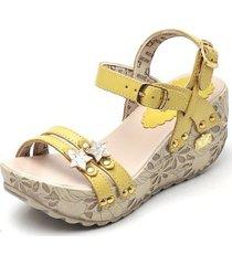 f9a18e15cc Sandálias - Feminino - Amarelo - 433 produtos com até 78.0% OFF ...