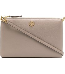 tory burch kira cross-body wallet bag - neutrals